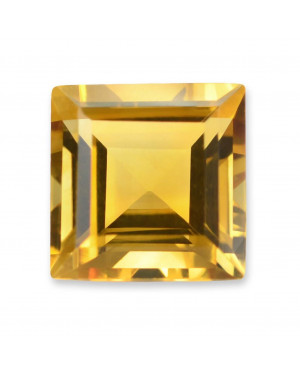 1.5mm SQUARE CITRINE AAA