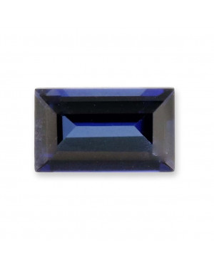 3X1.5mm BAGUETTE CREATED SAPPHIRE