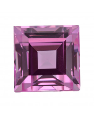 1.5mm SQUARE CREATED PINK SAPPHIRE