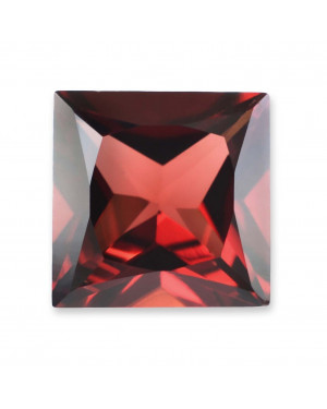1.5mm SQUARE GARNET MOZAMBIQUE AAA