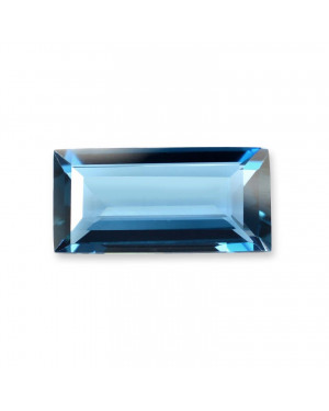 4X2mm BAGUETTE LONDON BLUE TOPAZ AAA