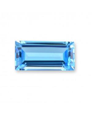 4X2mm BAGUETTE SWISS BLUE TOPAZ AAA