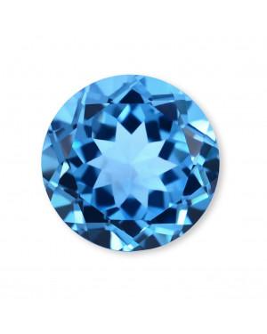 1mm ROUND SWISS BLUE TOPAZ AAA