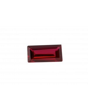 3X1.5mm BAGUETTE CREATED RUBY