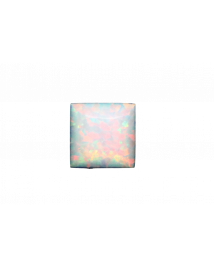 2mm SQUARE CREATED OPAL