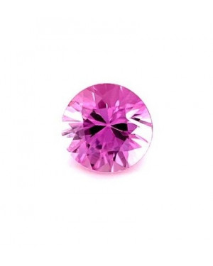 1mm ROUND PINK SAPPHIRE AAA