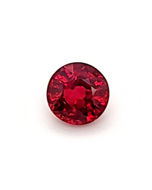1mm ROUND RUBY AAA